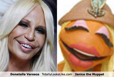 Donatella and Janice