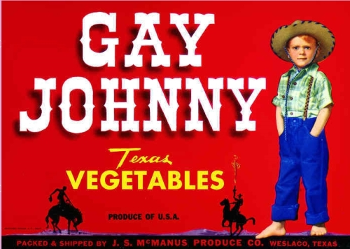 Gay Johnny looks a little sad today...