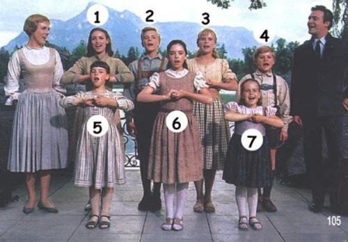 Sound of Music Children Before