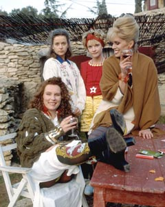 The main cast (without Mother): Eddie, Saffy, Bubble & Patsy