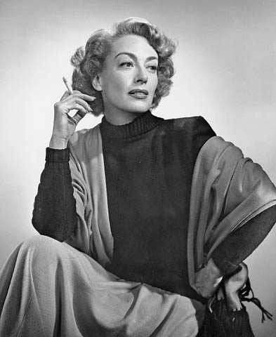 Joan in a gorgeous photo by Hollywood photog Yousuf Karsh