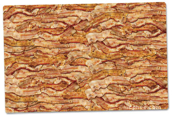 bacon placemats